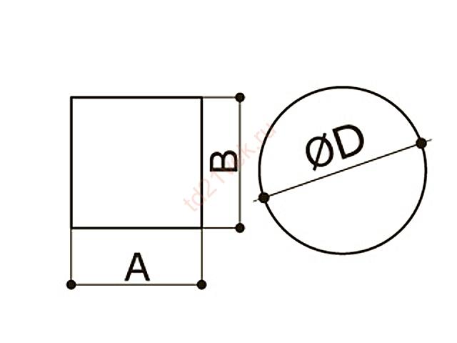 Фетровый подпятник 6135 d=35мм белый