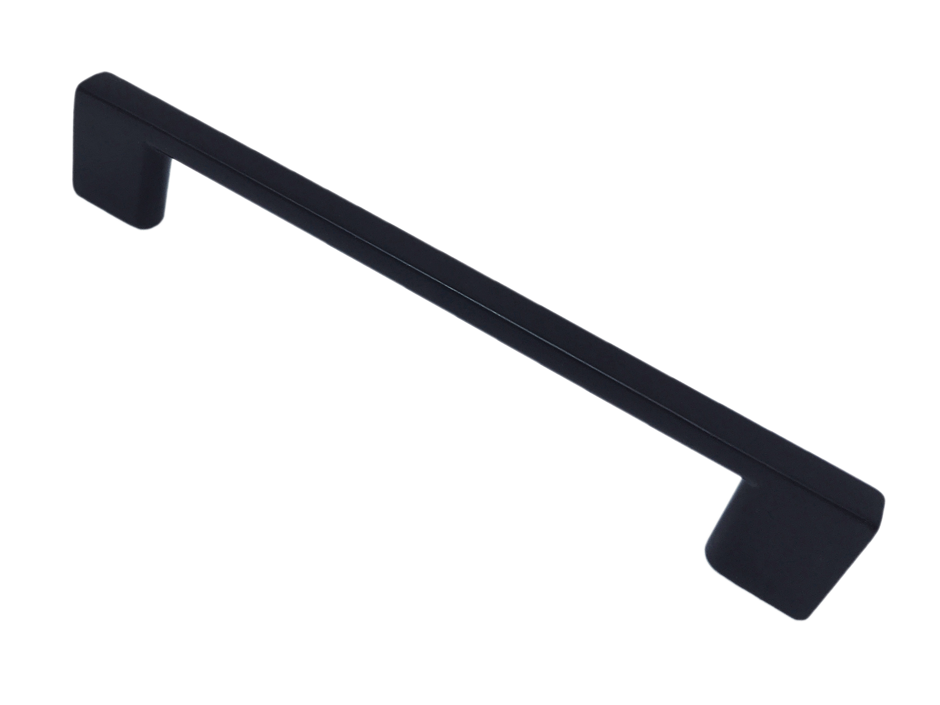 Ручка-скоба 1165 L-192мм Черная матовая