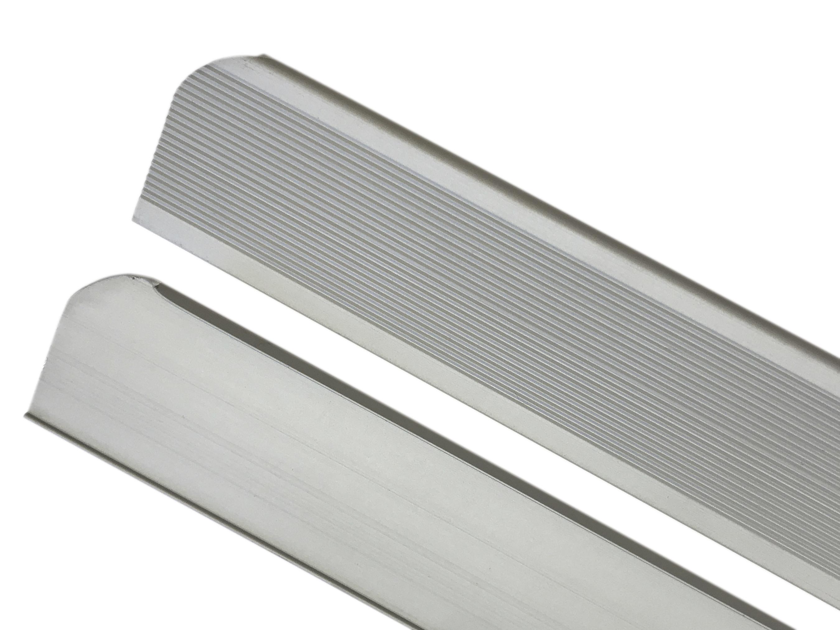 Планка торцевая 32мм алюминиевая (КОМПЛЕКТ 2 ШТ)