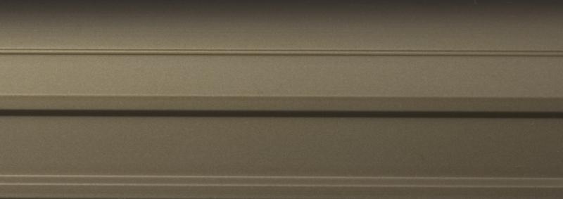Профиль вертик С-образный широкий 10мм шампань матовый 2,7м