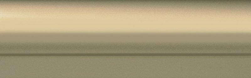Профиль вертик С-образный широкий 10мм золотой розовый 2,7м