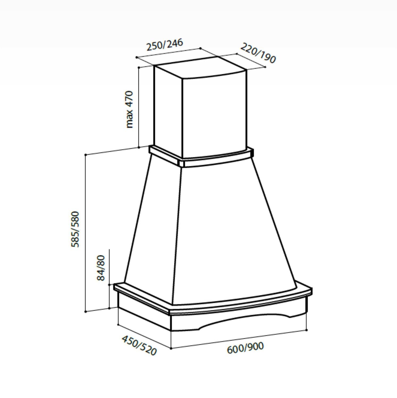 Воздухоочиститель LEX ASTORIA 900 WHITE RUVI000403