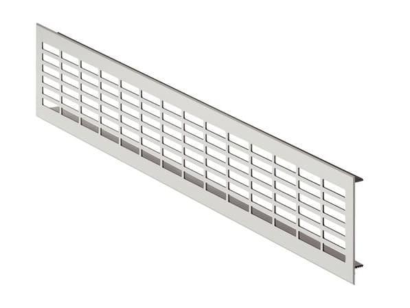 Вентиляционная решетка, 60х484, алюминий
