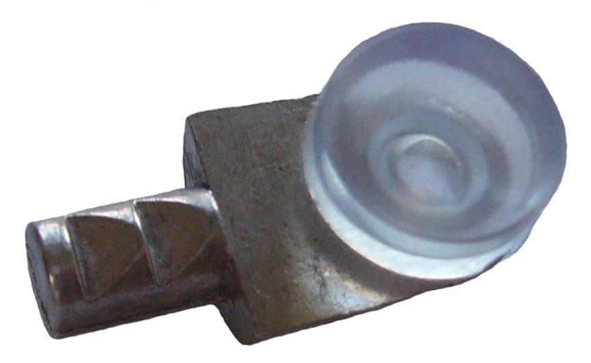 Полкодержатель металл с присоской