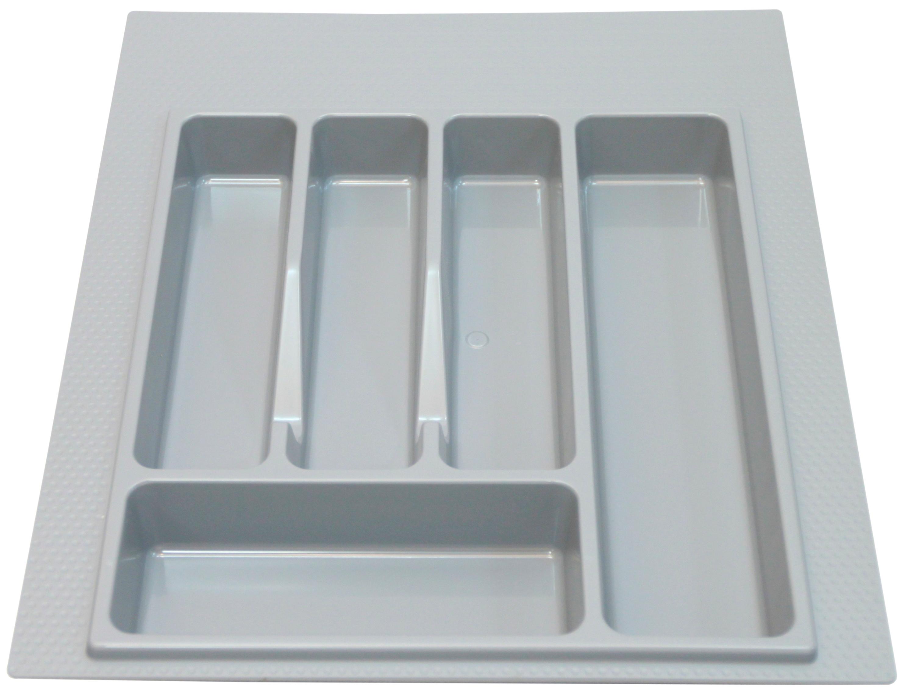 Лоток для столовых приборов 400-450мм белый