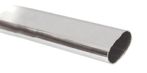 Штанга овальная L=3,00м 0,8мм хром