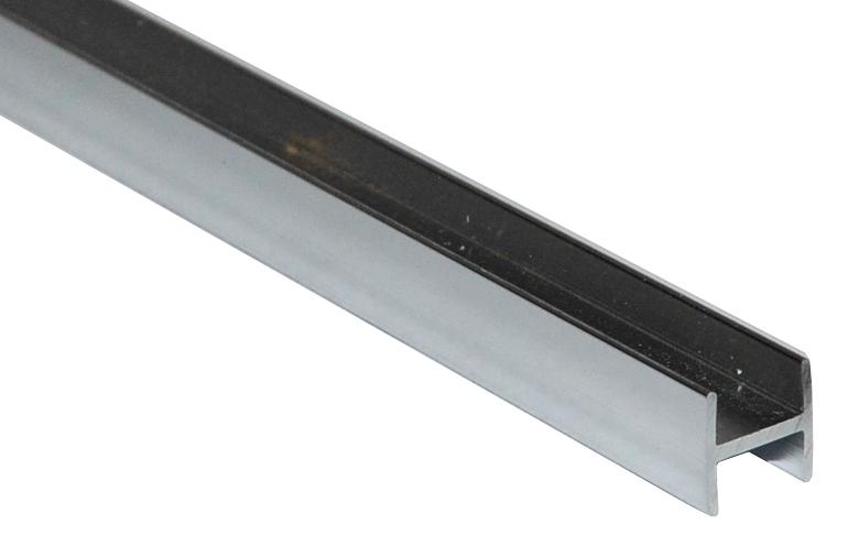 Планка для с/п соединительная Н 6мм ХРОМ L=3m