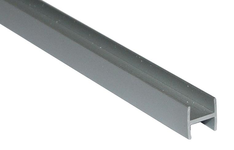 Планка прямая соединительная для стеновой панели 4мм МАТОВЫЙ ХРОМ